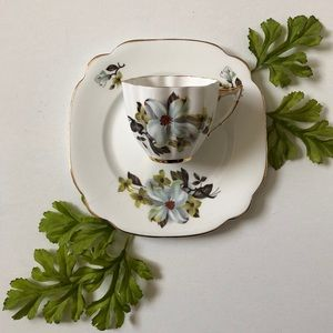 Other - Vintage Teacup & Matching Small Plate
